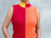 ravelry Rita Maassen Knitted Colour Block Top